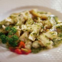Cocotxes de lluç amb salsa verda