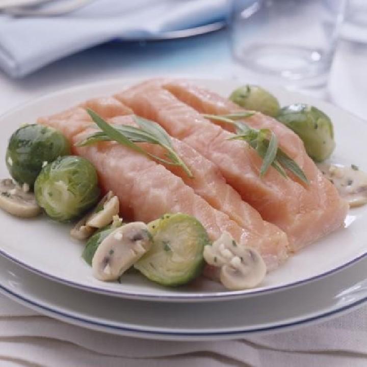 Llom de salmó amb estragó