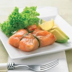 Atadillo de tartar de salmón