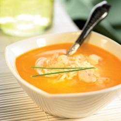 Sopa de peix amb arròs