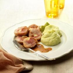 Miniredondos de pollo con puré de patata