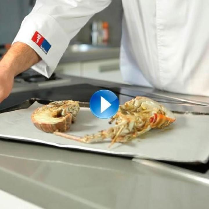 Com cuinar el marisc en el forn com si fos a la planxa?