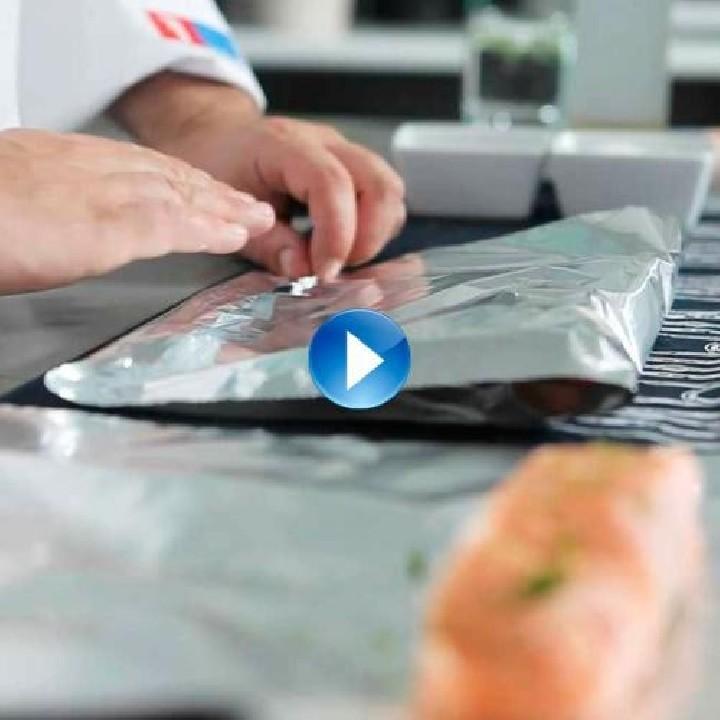 ¿Cómo cocinar congelados a la papillote?