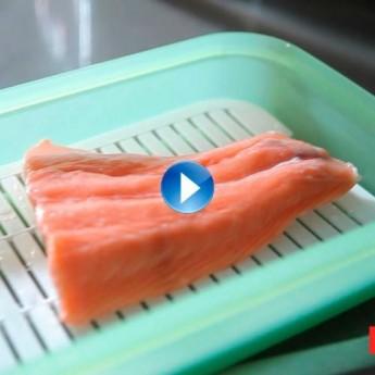 Com descongelar peix en el microones?