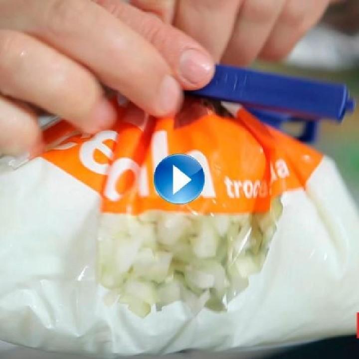 ¿Cómo conservar las bolsas de productos congelados?