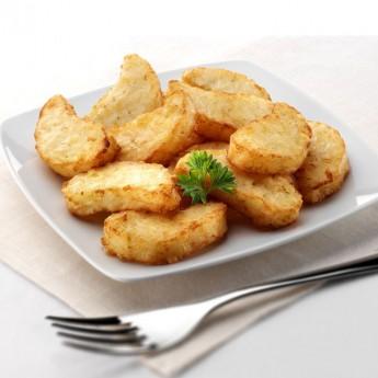 Bocaditos de patata y cebolla