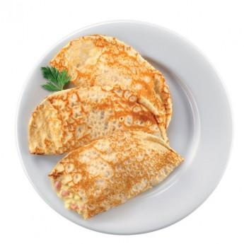 Crepes de jamón y queso Basic