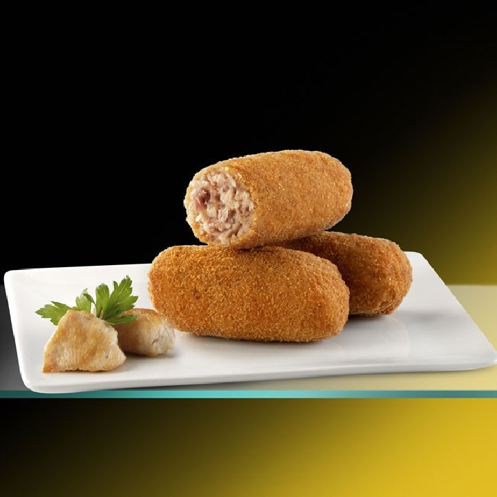 Croquetas de cocido de pollo Premium