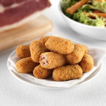 Mini croquetas de jamón