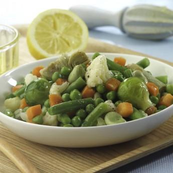 Ensaladilla y menestra de verduras los mejores - Como preparar menestra de verduras ...