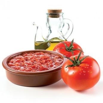 Tomate frito con aceite oliva virgen extra