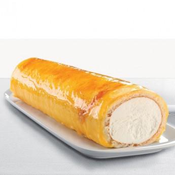 Brazo de nata y yema tostada