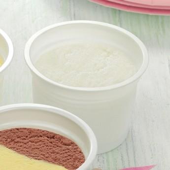Vasito helado sorbete de limón