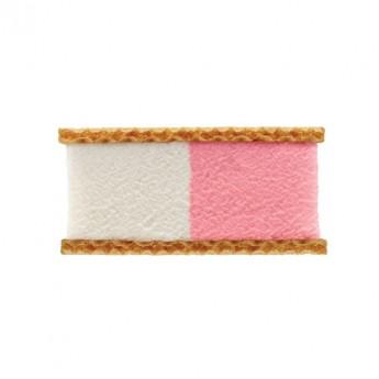 Bloque helado nata y fresa