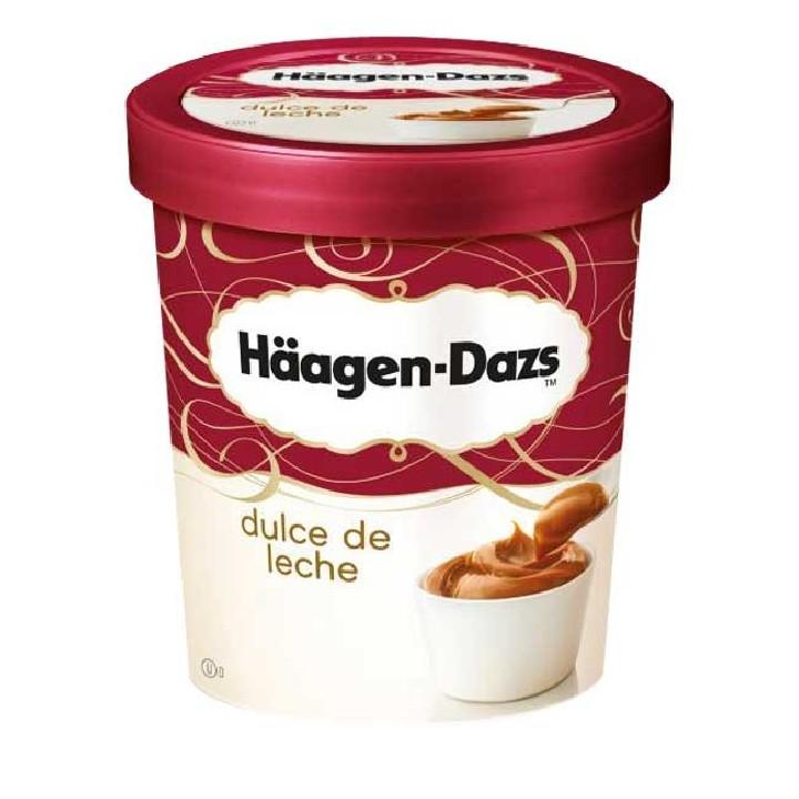 Terrina almívar de llet Häagen Dazs