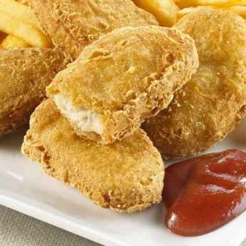 Nuggets de pit de pollastre