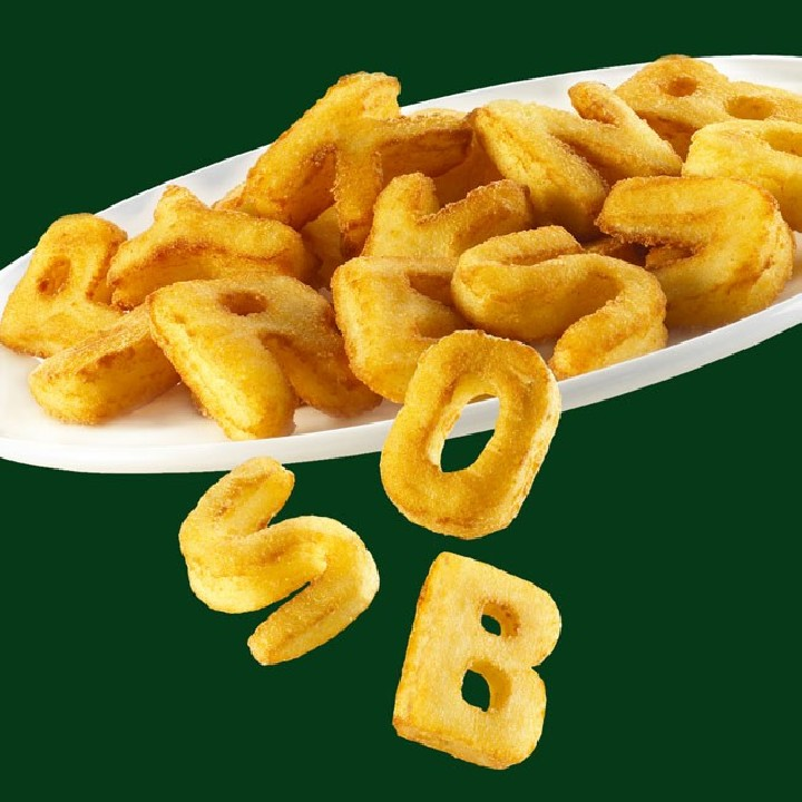Letras de patata