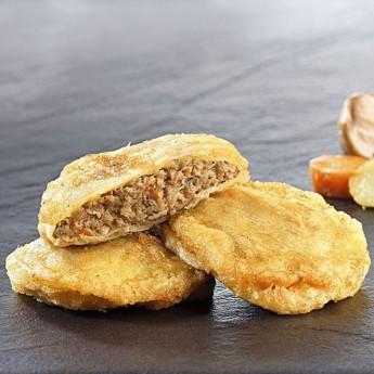 Patatas artesanas rellenas de carne
