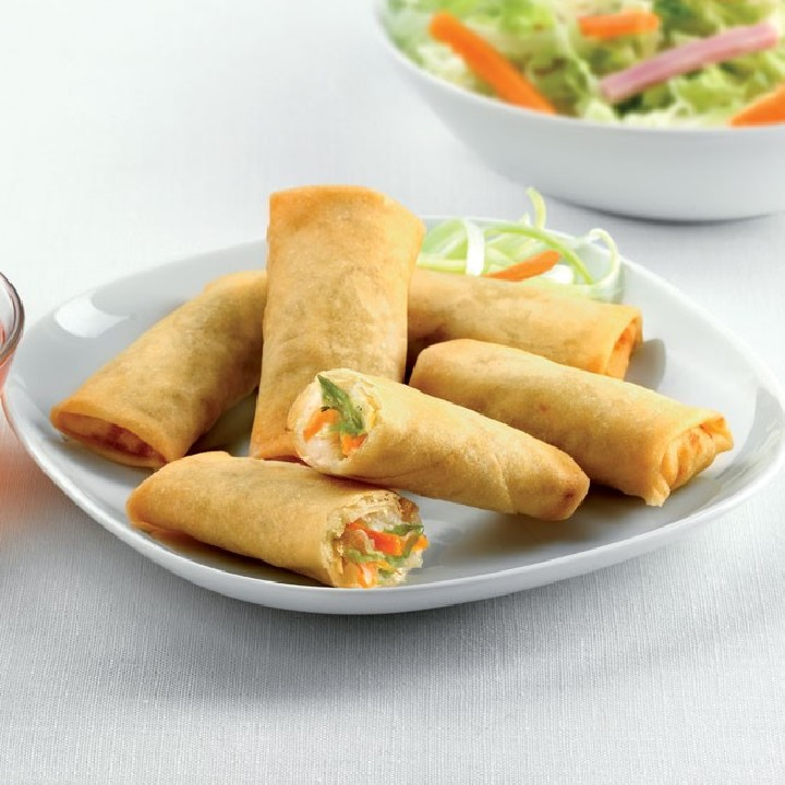 Mini rollitos primavera