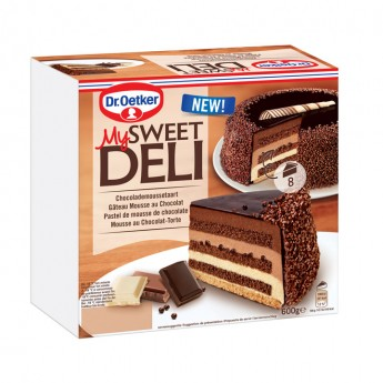 Pastel mousse chocolate Dr.Oetker