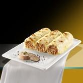 Canelones de foie y trufa con bechamel Premium