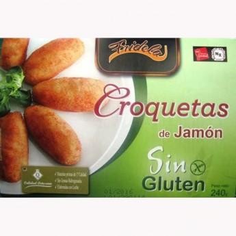 Croquetes de pernil sense gluten