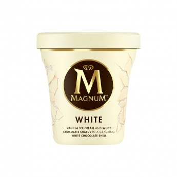 Tarrina Magnum Pint White Frigo
