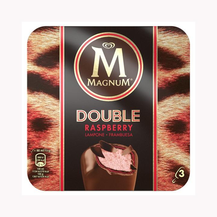 Magnum Double Raspberry Frigo