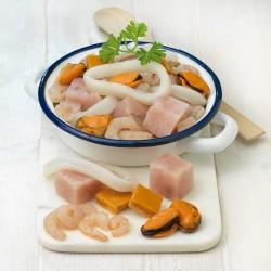 Preparado para sopa de pescado y marisco
