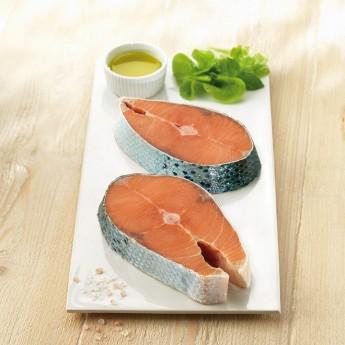 Rodaja de salmón