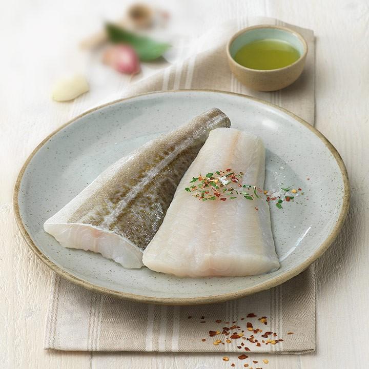 Filet de bacallà al punt de sal
