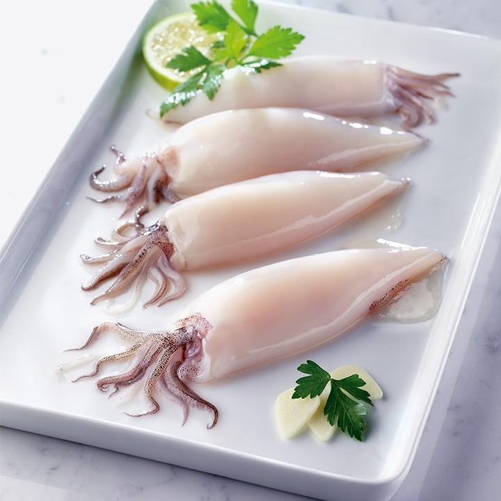 Calamar plancha valor nutricional