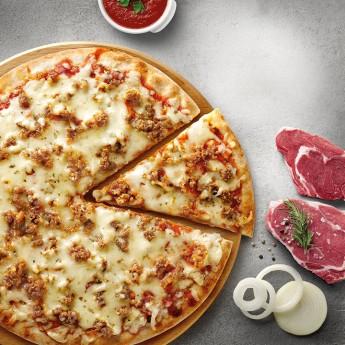Pizza forn de pedra bolonyesa