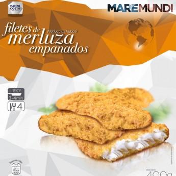 Filetes de merluza empanada