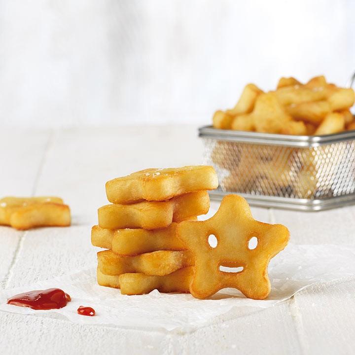 Patatas estrella