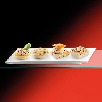 Mini canapés de salmón Premium