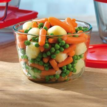 Guisantes,patatas,zanahoria y cebolla