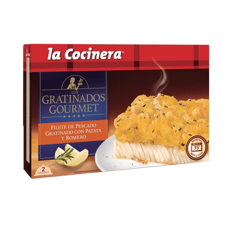 Filet de peix amb patata i romaní La Cocinera