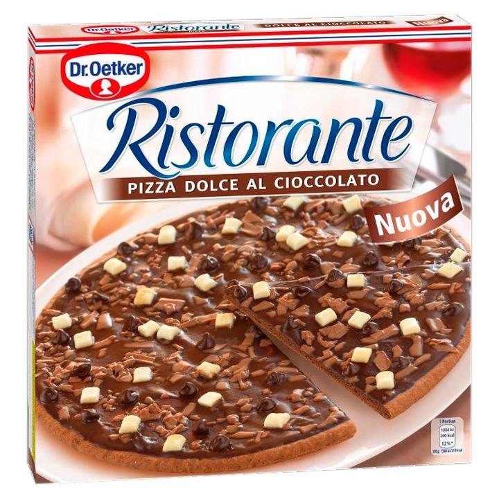 Pizza Ristorante chocolate Oetker