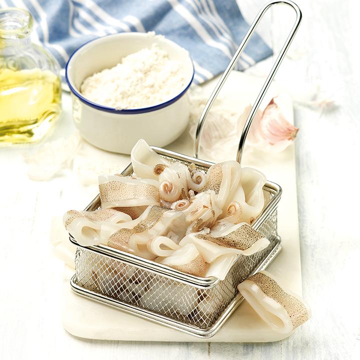 Calamar Patagònic net trossejat