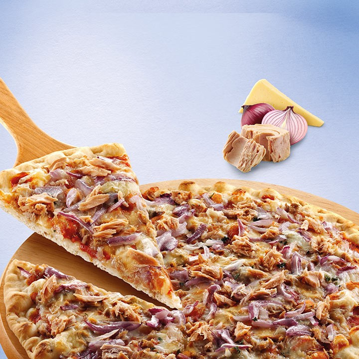 Pizza fina atún