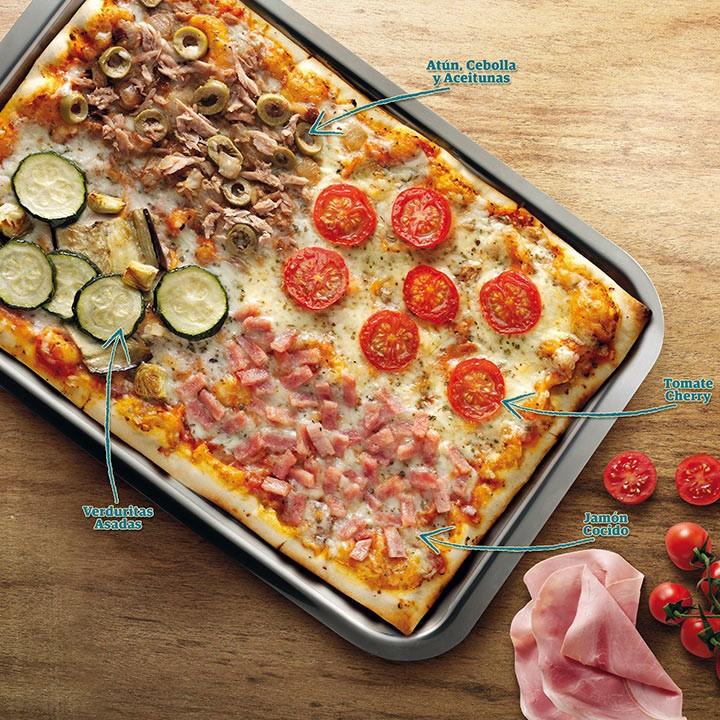 Pizza 4 sabors