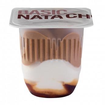 Basic Vasitos nata y chocolate
