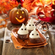 Coulant fantasma (receta para Halloween)