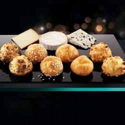 Mini choux de quesos
