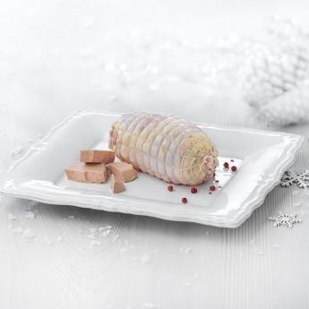Mini redondo relleno de foie Premium