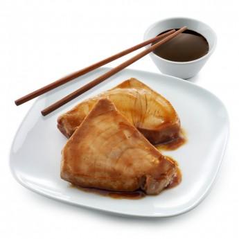 Filet de tonyina teriyaki