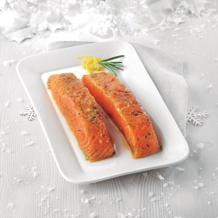 Lloms salmó farigola i romaní Premium