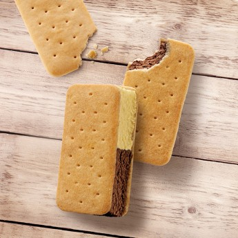 Sandwich vainilla-chocolate