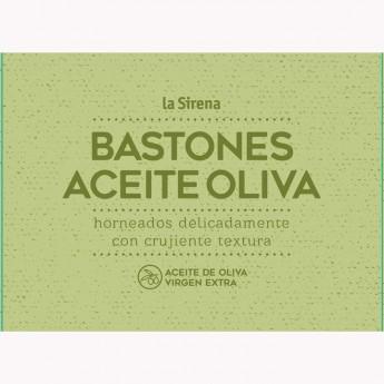 Bastones con aceite de oliva virgen extra.